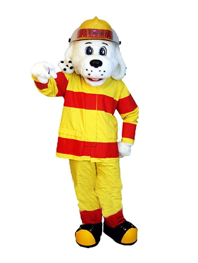 Sparky the Fire Dog Comes to Hutchins