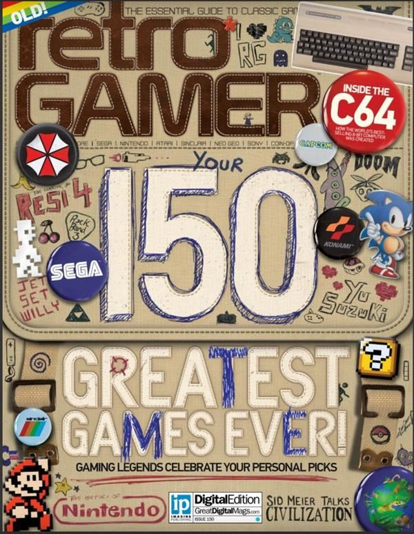 Legends of Reset / Retro Gamer magazine