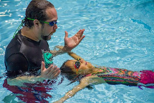 South San Students Receive Free Swim Lessons