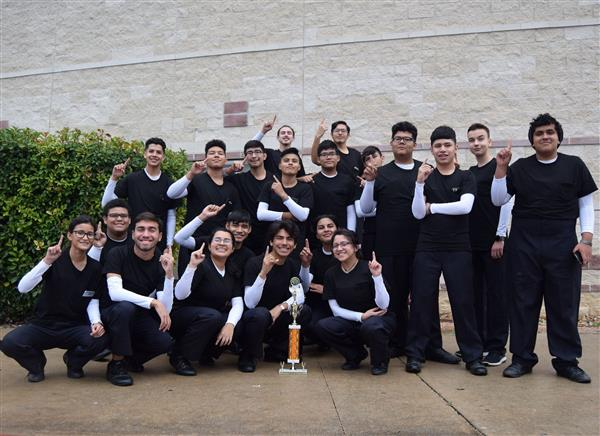First Place Win For South San Drumline