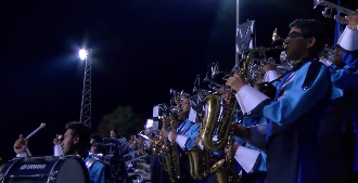 Bobcat Band Receives Top Ranking for Outstanding Performance
