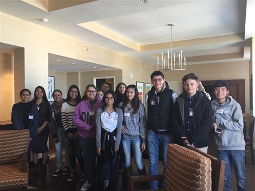 SSHS  CTE Students attend Field Trip to Grand Hyatt