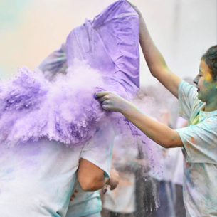 SSAHS Hosts First Ever Color Run