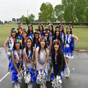 South San HS dance team featured during Fiesta events