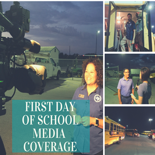 First day of school media coverage