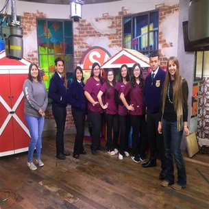 "South San's FFA featured on KSAT's ""SA Live"""