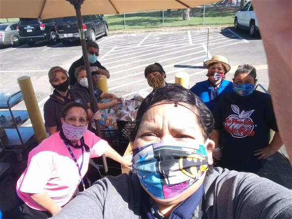 South San ISD Food Services sending home healthy sunshine