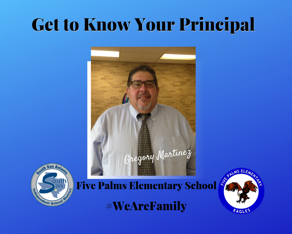 Five Palms Elementary School principal says he's living the dream