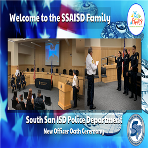 District Police Department Chief Welcomes Three New Officers