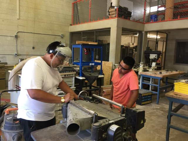 Construction technology students work towards industry certifications