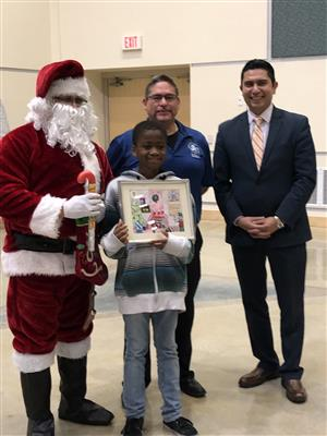 South San ISD announces district winner of Christmas Card Contest