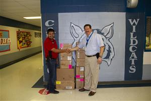 Office Depot Selects Carrillo ES for School Supply Giveaway