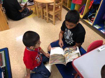 Palo Alto ES students take part in state wide read-in event