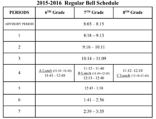 san juan hills bell schedule